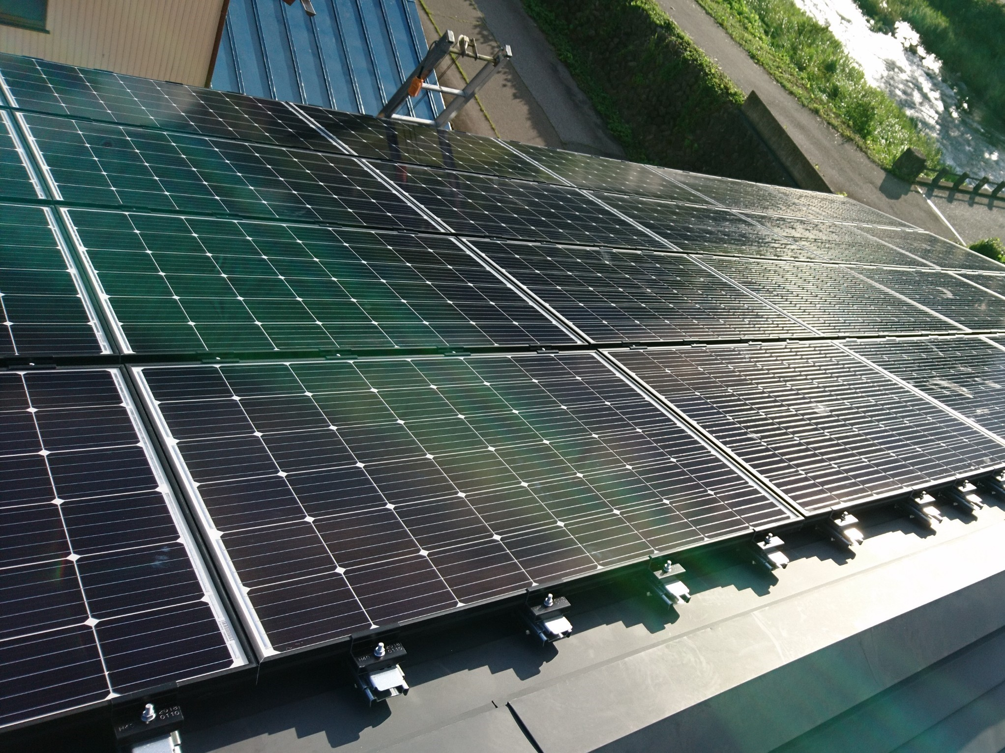 H様 太陽光発電施工事例