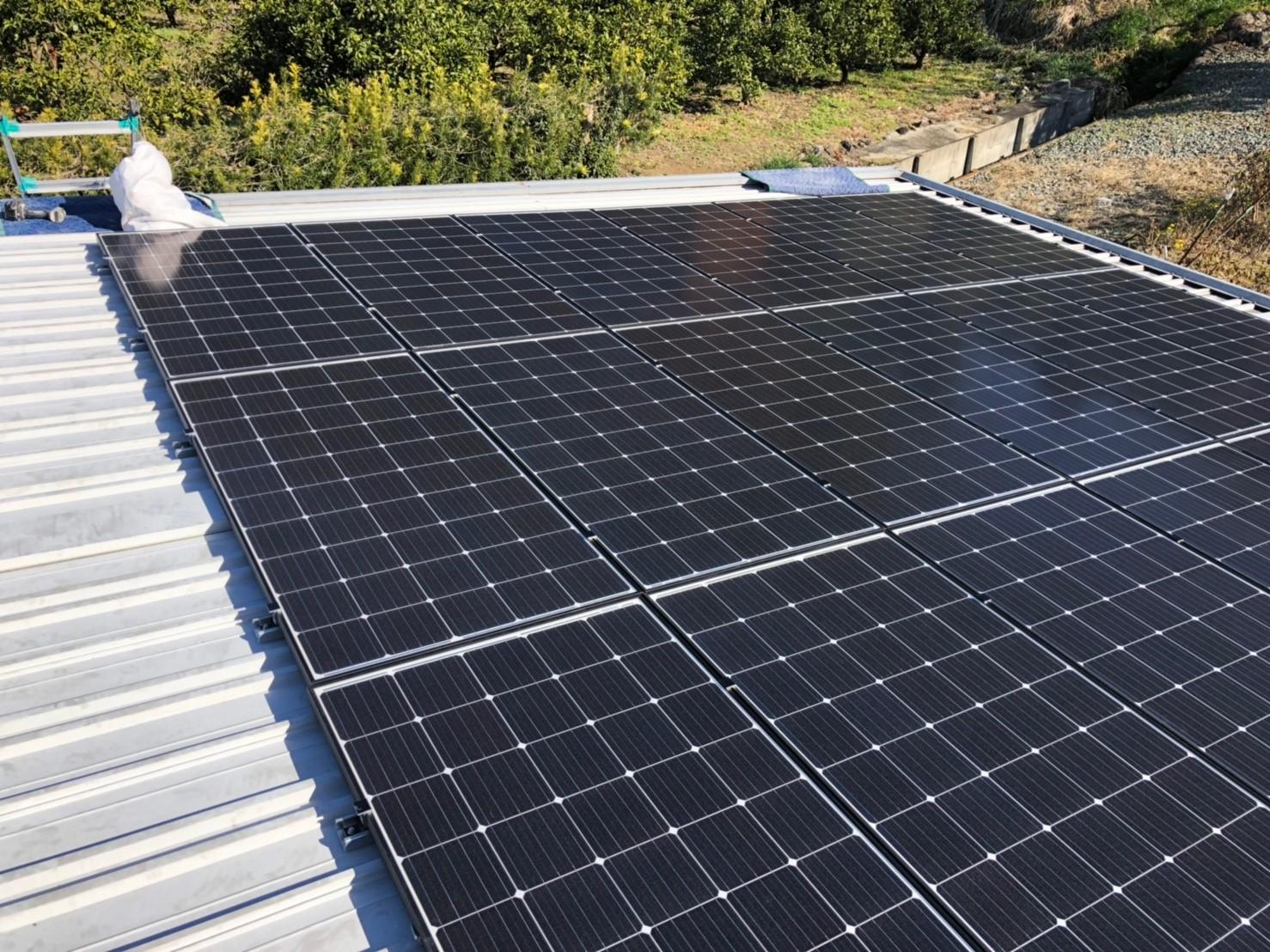 M様 太陽光発電施工事例