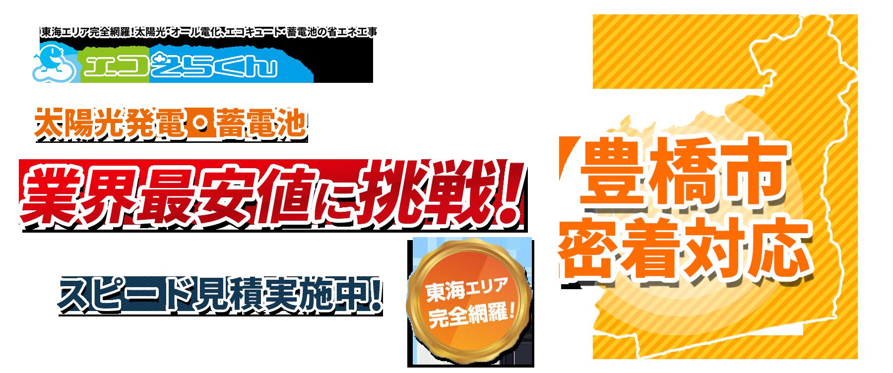 愛知県豊橋市密着対応!